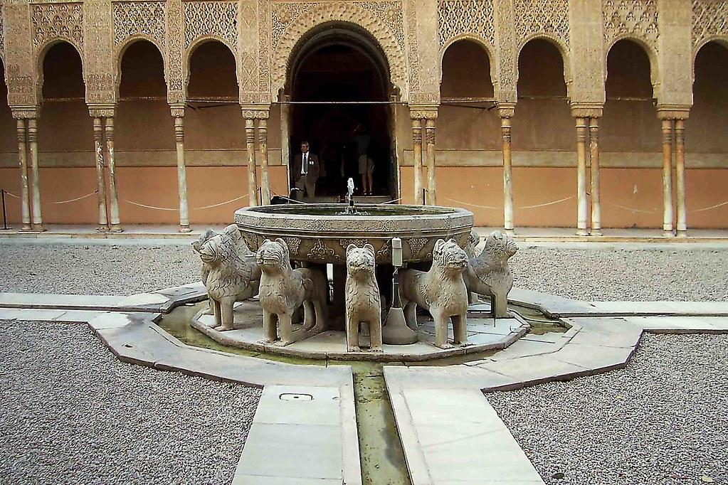 Patio de los leones granada alhambra artista flickr - Fuente para patio ...
