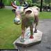 No 2 The Golden Cow of Craigmillar at Edinburgh Cow Parade 2006