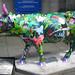 No 49 Rainforest Cow at Edinburgh Cow Parade 2006