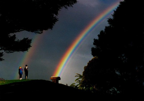 Double and supernumerary rainbows | by Walt K