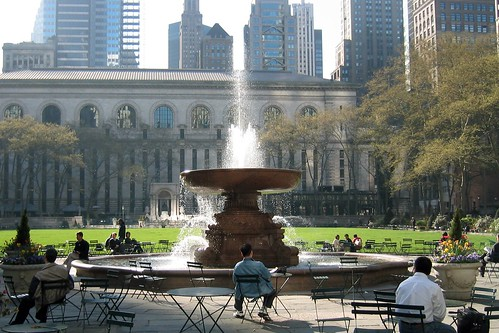 NYC - Midtown: Bryant Park and New York Public Library | by wallyg