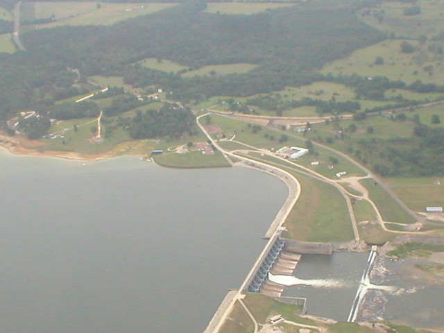 Lake Livingston Dam  Flickr - Photo Sharing!