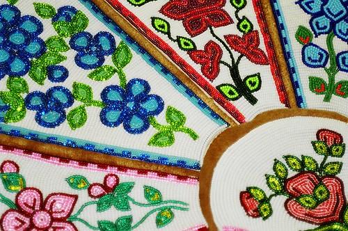 Dene Beadwork Beautiful Beaded Flower Designs On Brain