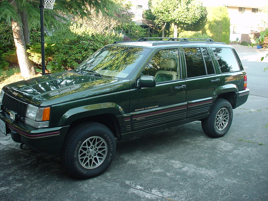 1995 jeep orvis edition 1995 jeep grand cherokee orvis