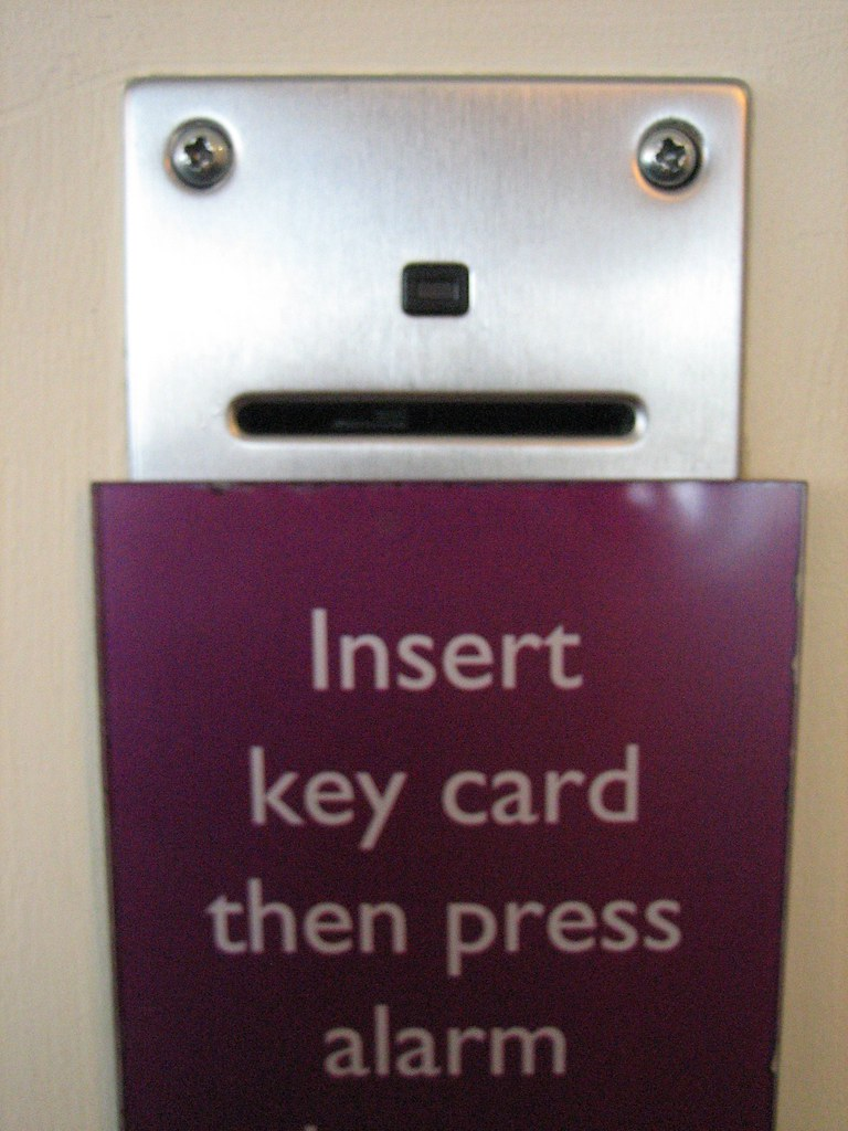 hotel key card face | This one's special as his nose ...