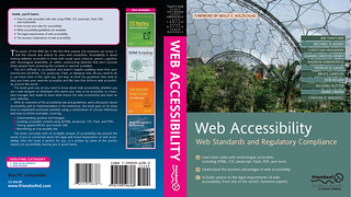 Web Accessibility: Web Standards and Regulatory Compliance | by clagnut