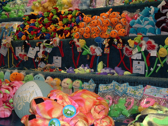 carnival prizes if you play the game right you can win