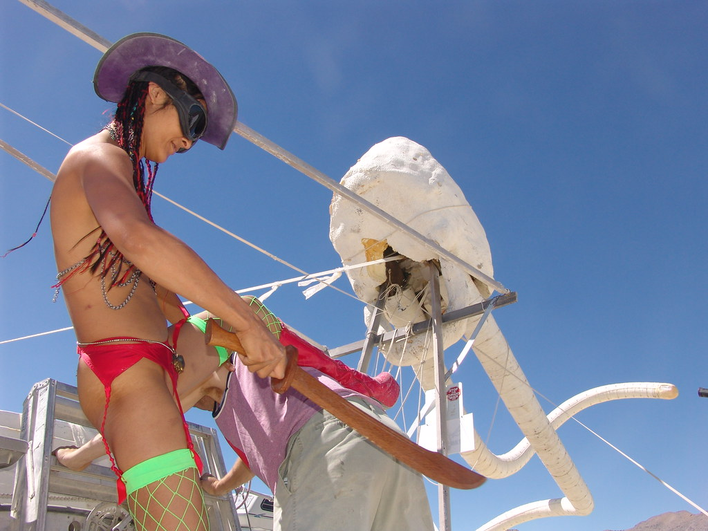 burning man, 2003