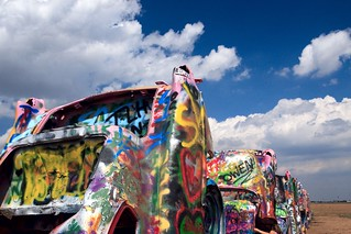 Cadillac Ranch July 2006 | by longhorndave