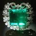 BF322 Hooker Emerald Brooch