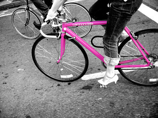 Pink Cannondale no text | by McBomb