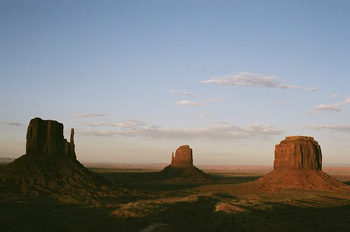 Monument Valley at sunset | by Navin75