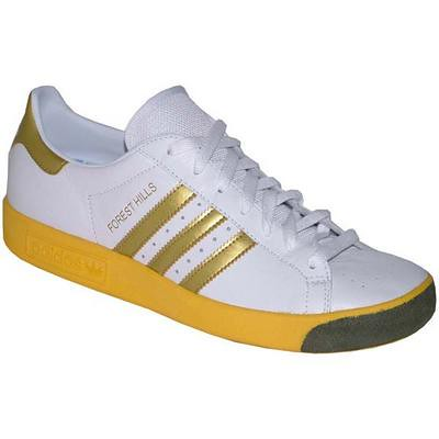 Adidas Shoes With Gold Stripes
