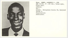 Montgomery mug shot photo of Laurence Henry: 1960