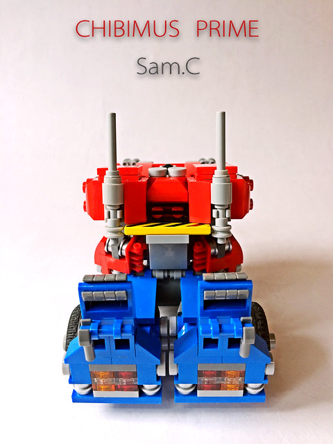 LEGO Transformers: Chibimus Prime- Truck Rear
