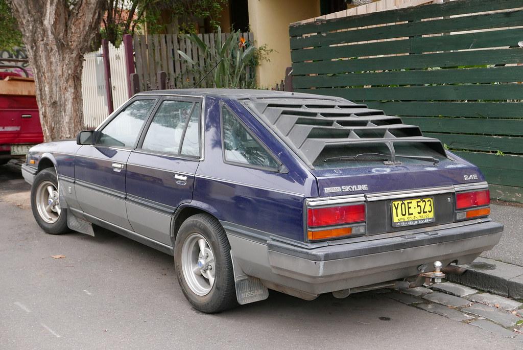 1985 Nissan Skyline R30 Ti 2 4e Hatchback Wikipediaosx