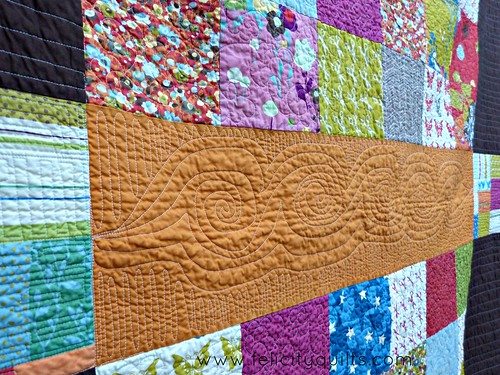 Wonderland Quilt detail 4