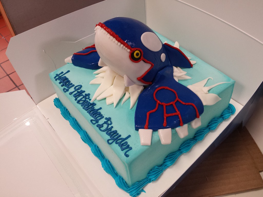 br 843 Pokemon Kyogre ice cream cake Gary Flickr