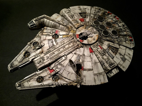 Hobby:BANDAI SW Millenium Falcon(Vehicle Model)