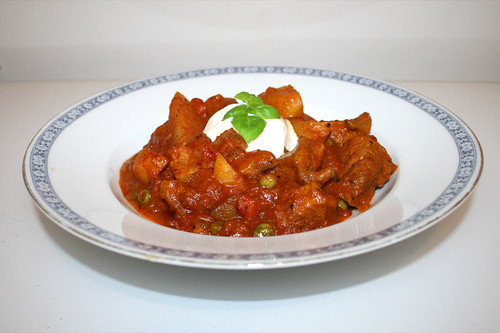 67 - Pork Vindaloo - Side view / Seitenansicht