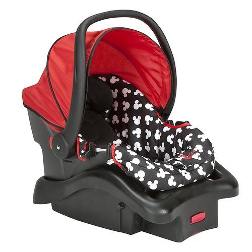 Disney Comfy Mickey Silhouette Silla Carro Porta Bebe 1