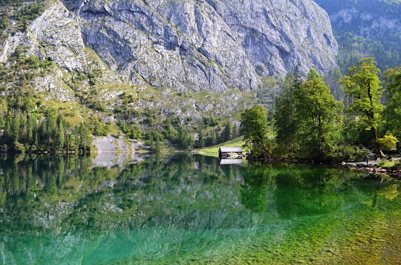 Lake Obersee, Berchtesgaden, Bavaria