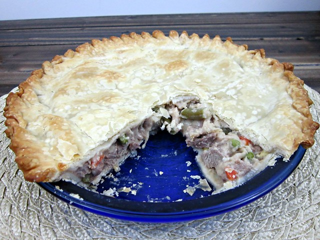 Venison Pot Pie Inside