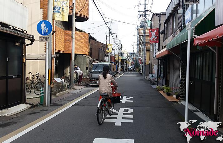 Ahorrar en un viaje a Japón: andar en bicicleta