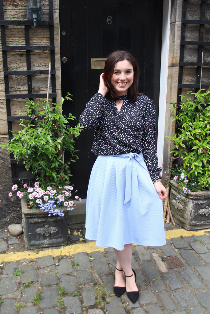summer outfit fashion blogger Edinburgh Scotland the little things