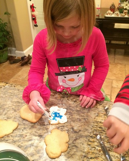 Santa Cookies 2014