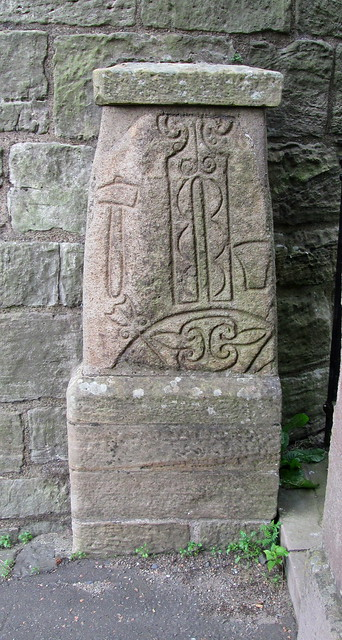 Abernethy, Pictish Inscription in Stone