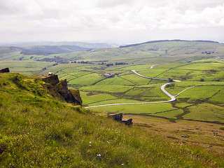 The view from the top of Shining Tor