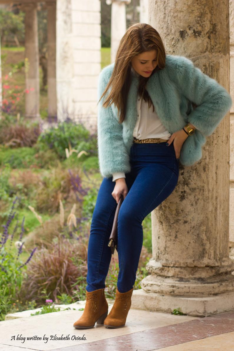 abrigo pelo zara look invernal barcelona outfit (1)