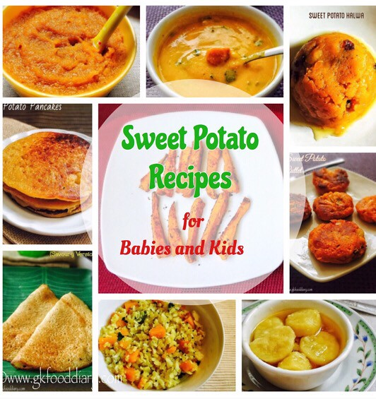 Sweet Potato Recipes for Babies, Toddlers & Kids