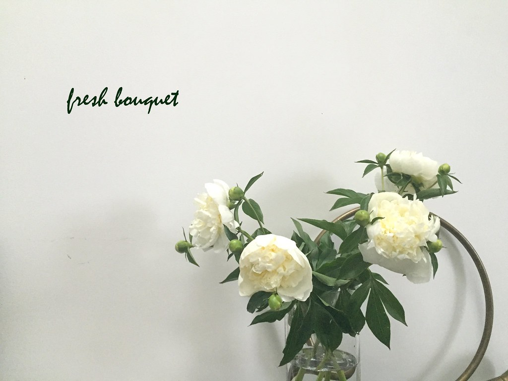 Peonies peony bouquet fresh flowers white please link back flickr peonies peony bouquet fresh flowers white by le living and co mightylinksfo
