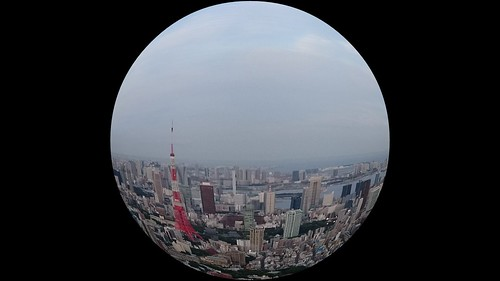 fish eye effect 魚眼レンズ