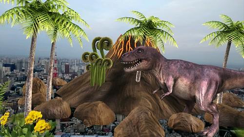 T-Rex AR Effect