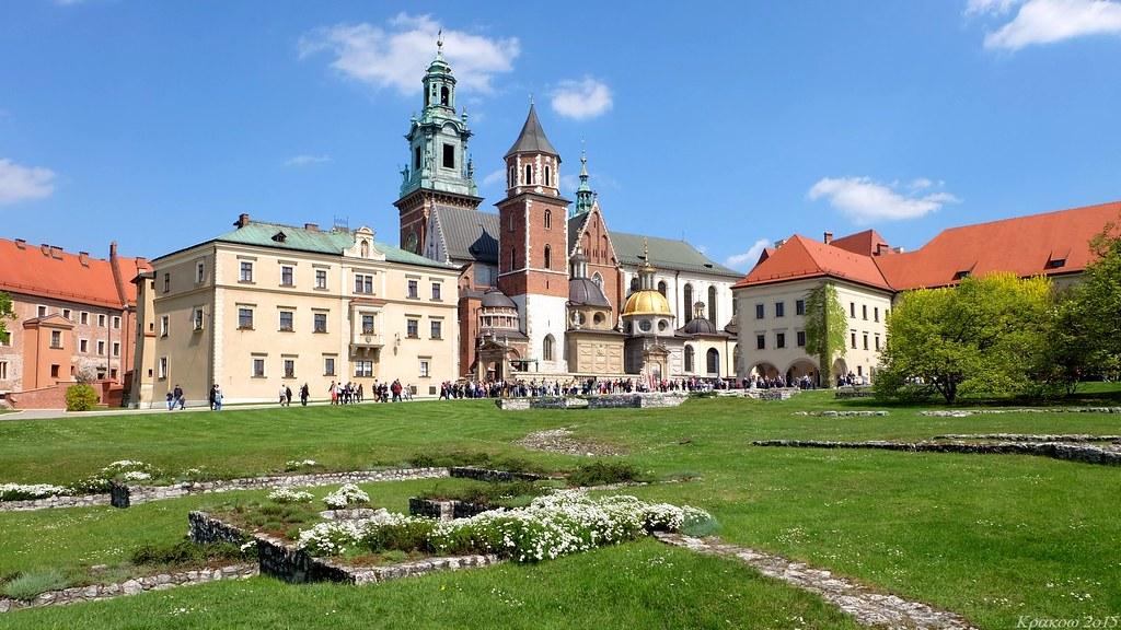 Bazylika archikatedralna św. Stanisława i św. Wacława in Wawel Royal Castle, Kraków, Polska