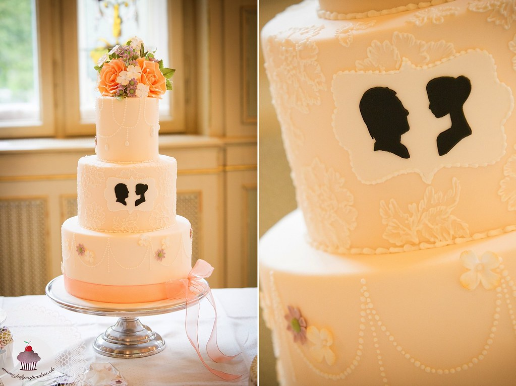 Silhouette Wedding Cake 01 | Julia Baerwald | Flickr