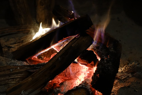 fire with firewood