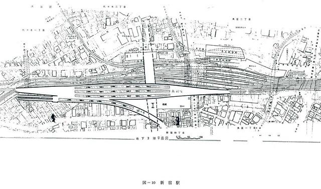 大新宿構想時代の上越新幹線新宿駅地下ホーム (3)