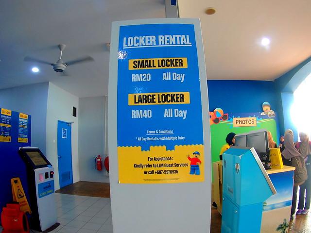 Legoland Water Park Locker Rental