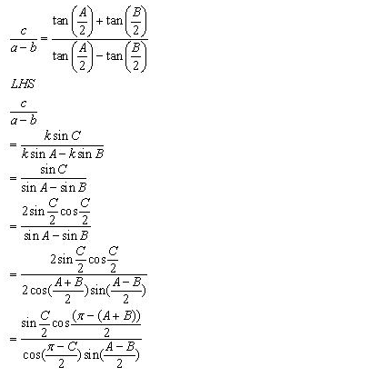RD-Sharma-Class-11-Solutions-Chapter-10-sine-and-cosine-formulae-and-their-applications-Ex-10.1-q6