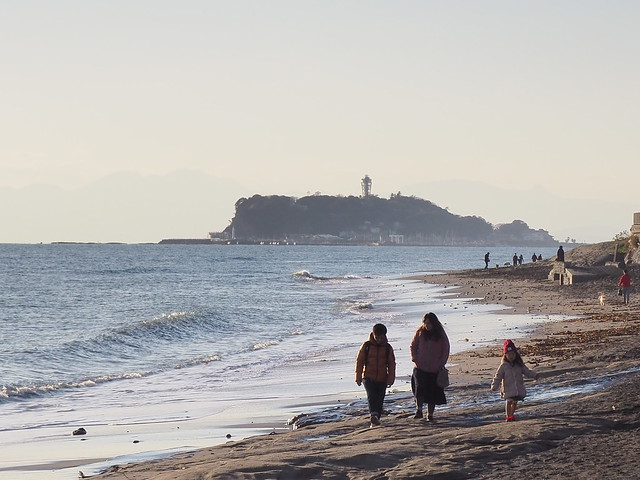 walking around Kamakura 2016.12.25 (57) with Digital Telecon x2