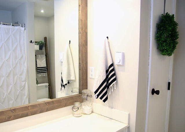 Bathroom Makeover Reveal For $100