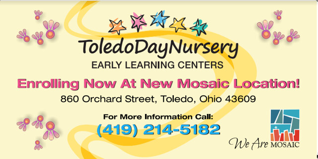 image flyer about toledo day nursery