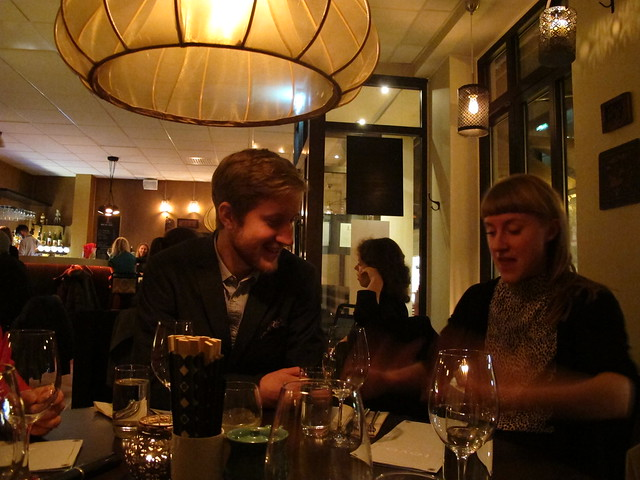 friday, my brother's graduation dinner, toyo, lund