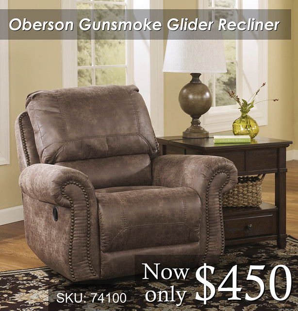 Oberson gunsmoke recliner NEW