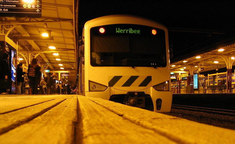 Train to Werribee, June 2005