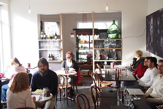 Flat White Coffee and Brunch in Melbourne - Dr. Jekyll Cafe (107-113 Grey Street, St. Kilda)